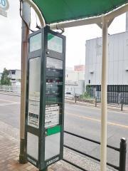 「瓜破南」バス停留所