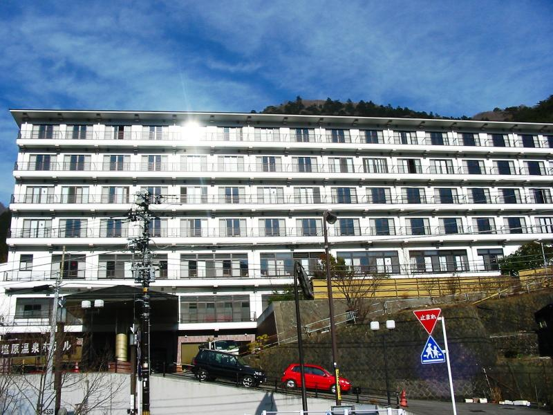 塩原温泉ホテル全景