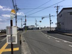 「久万川橋」バス停留所