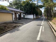 「薬師寺」バス停留所