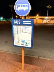 「観音マリーナホップ」バス停留所