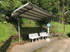 「翔陽高校入口」バス停留所