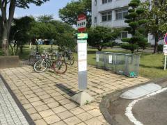 「岐阜高専」バス停留所