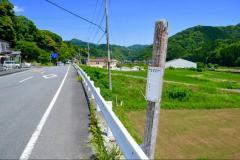 「稲梓中学」バス停留所