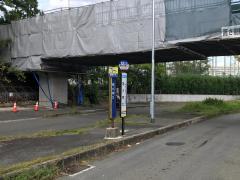 「阪大南口」バス停留所