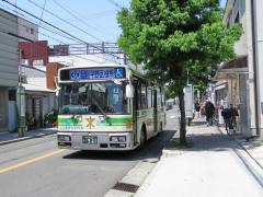 「JR平野駅」バス停留所