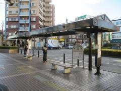 「久喜駅西口」バス停留所