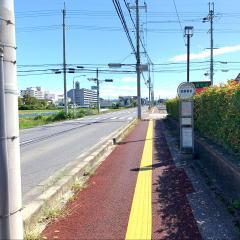 「守山警察署前」バス停留所