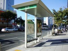 「浄正橋」バス停留所