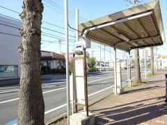 「御成台入口」バス停留所