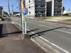 「日向迎洋園」バス停留所