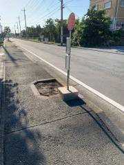 「市民プラザ北」バス停留所