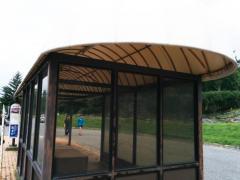 「蓼科牧場」バス停留所