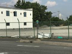 「長島海岸」バス停留所
