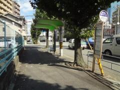 「大淀中三丁目」バス停留所