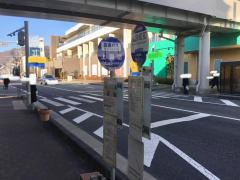「上諏訪駅霧ケ峰口」バス停留所