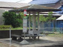 「北方柱本」バス停留所