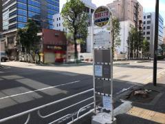 「鶴屋町2丁目」バス停留所