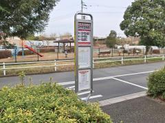 「田中町団地西」バス停留所
