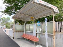 「川俣役場前」バス停留所