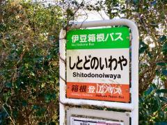 「シトドの窟」バス停留所
