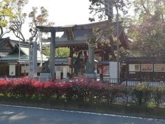 護王神社(イノシシ神社)