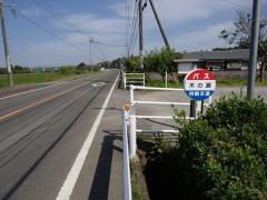 「木の瀬」バス停留所