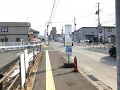 「上堂」バス停留所