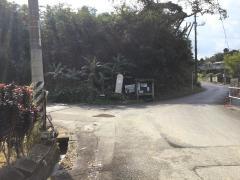 「運天原入口」バス停留所