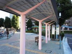 「ふじみ野駅東口」バス停留所