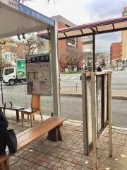 「国立駅」バス停留所
