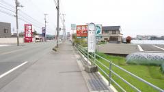 「本村」バス停留所
