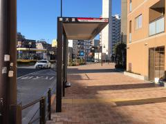 「東大裏」バス停留所