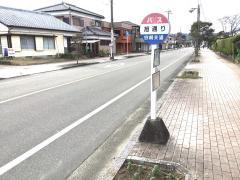 「旭通り(綾町)」バス停留所