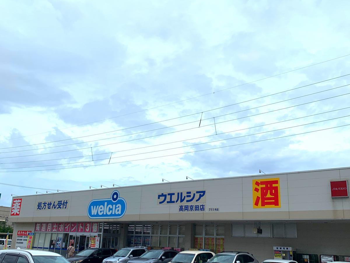 ウエルシア 高岡京田店