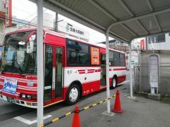 「四条畷駅」バス停留所