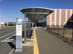 「茨城空港」バス停留所