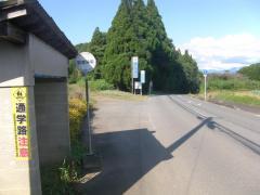 「記念碑前(山鹿市)」バス停留所