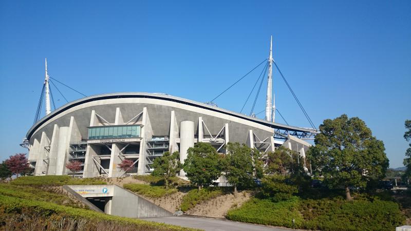 豊田スタジアム外観です