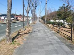 「漕艇場」バス停留所