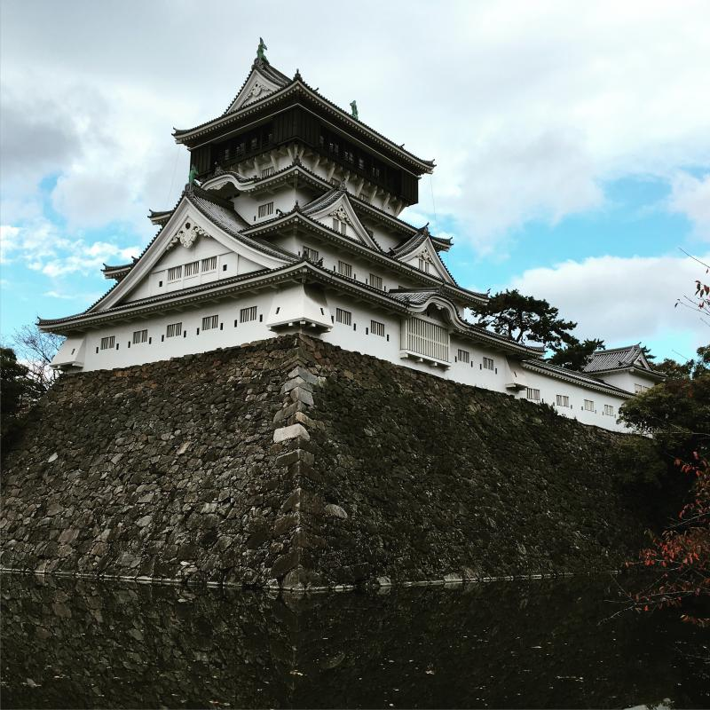 小倉城全景