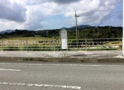 「運天上原」バス停留所