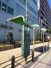 「北深江」バス停留所