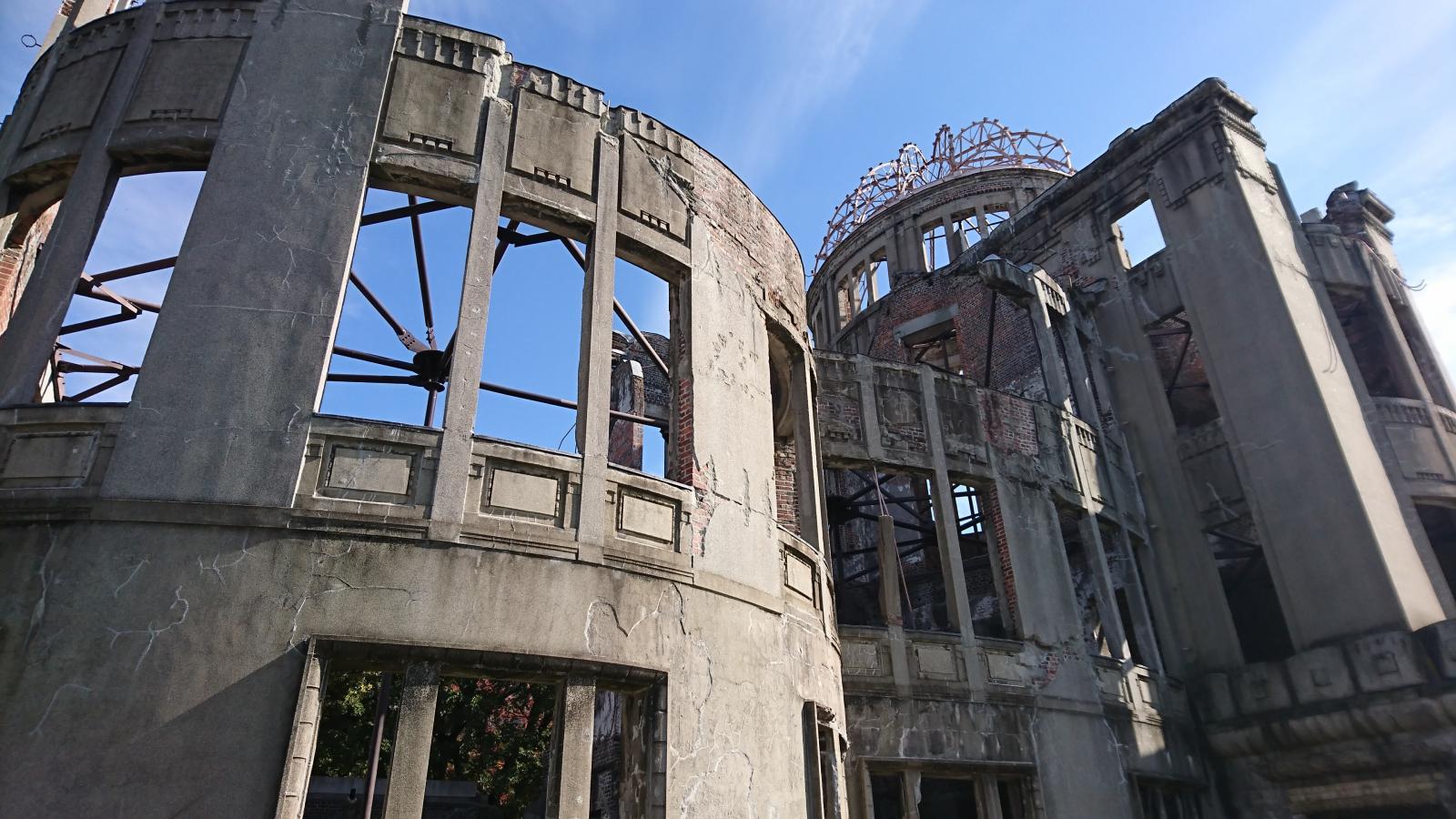原爆ドーム 外壁