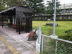 「郡山市役所」バス停留所
