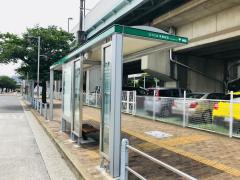 「東雲駅前」バス停留所