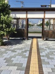 「壬生川駅前」バス停留所