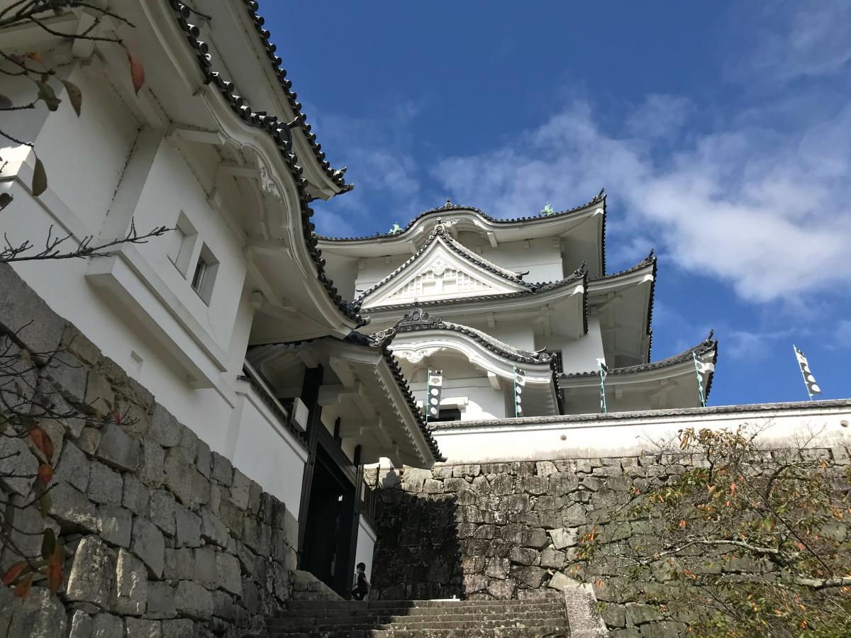 伊賀上野城へ行って来ました。