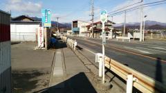 「岩井地蔵前」バス停留所