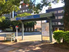 「高千穂通り2丁目」バス停留所
